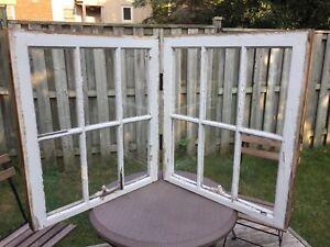 Rustic window seating chart