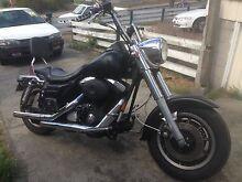 Harley Davidson road King custom Elizabeth Town Meander Valley Preview
