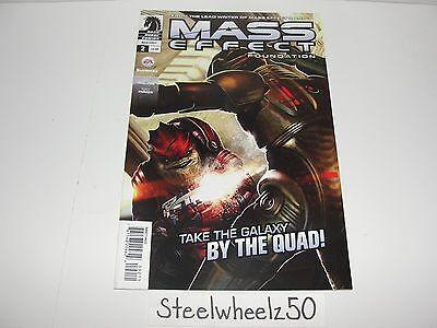 Mass Effect Foundation #2 Comic Dark Horse 2013 3 Video Game Mac Walters Parker