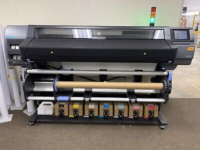 Hp 570 Latex Large Format Printer - N2g70abulk Ink