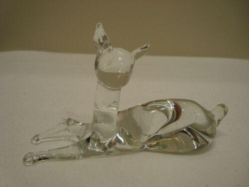 Vintage Pilgrim  Blown Glass Deer