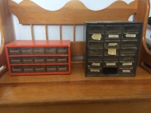 Nail and screw divider/storage