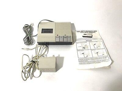 Vintage Phone-Mate Telephone Answering Machine MiniMate 6500