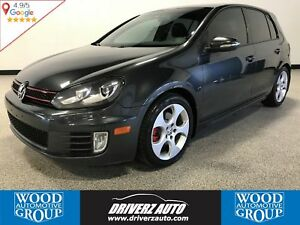 2011 Volkswagen Golf GTI 5-Door SUNROOF, DSG AUTO, HEATED SEATS