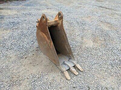 12 Case 580 Backhoe Loader Bucket 45-38 Mm Pins 10-5 Stick Width