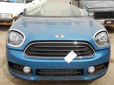 2017 Mini Countryman FWD Blue 1.5L AT Front End Clip Nose NTO IIHS Test Car