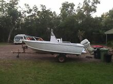 Stacer 5m center console. 70 hp Johnson Arndell Park Blacktown Area Preview