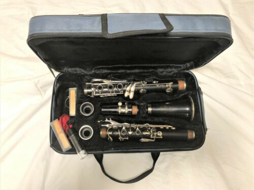 Selmer Signet 100 Wood Step-Up Clarinet-Restored to Perfect-New Nickel Plating!