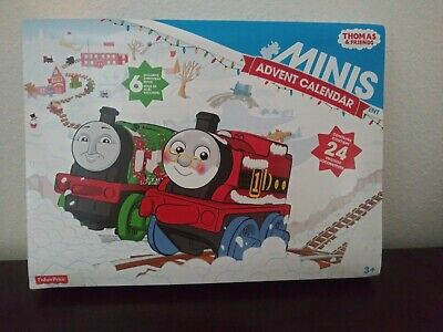 NEW Thomas & Friends Minis Advent Calendar 24 Trains 6 Exclusives! RETIRED 2015