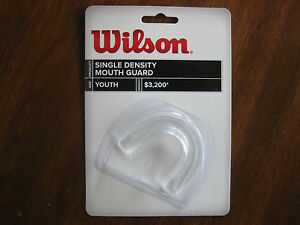 Mouth Guard Youth Clear  Single Density Wilson Football Basketball Protect teeth