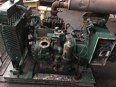 20 Kw Detroit 2-71 Engine Delco 230 Volt 3 Phase 63 Amps 1200 Rpm