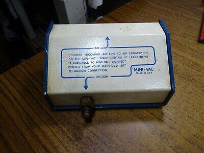 Mini-vac Vacuum Pump