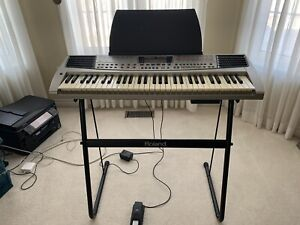 Roland EM-25 Creative Keyboard With Stand, Pedal, Lesson Book/CD