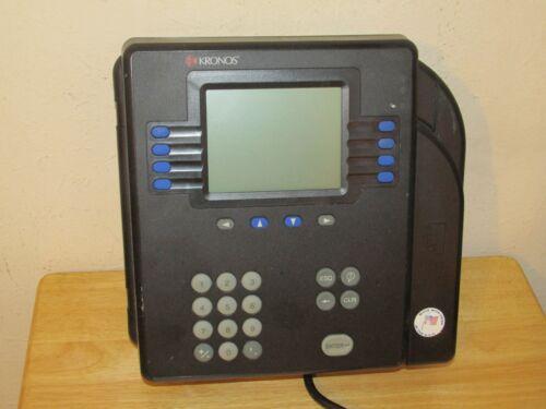 ADP Kronos 4500 Digital Time Clock System 8602000 w/Ethernet - EXC!