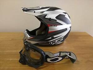 HJC offroad helmet (XL) and Oakley goggles Deakin South Canberra Preview