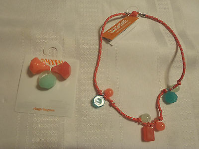 Buy and sell Gymboree Ice Cream Parlor 3-Pack Rings Necklace Choice NWT Choose 1 or Set products