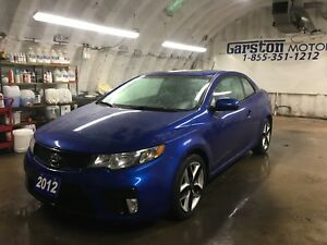 2012 Kia Forte Koup SX / Pay $59 weekly with $0 Down (o.a.c)