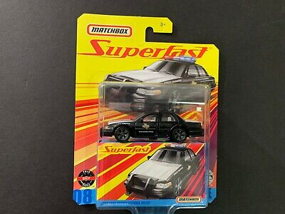 Matchbox Ford Crown Victoria Police 2006 Superfast GBJ48-956E 1/64
