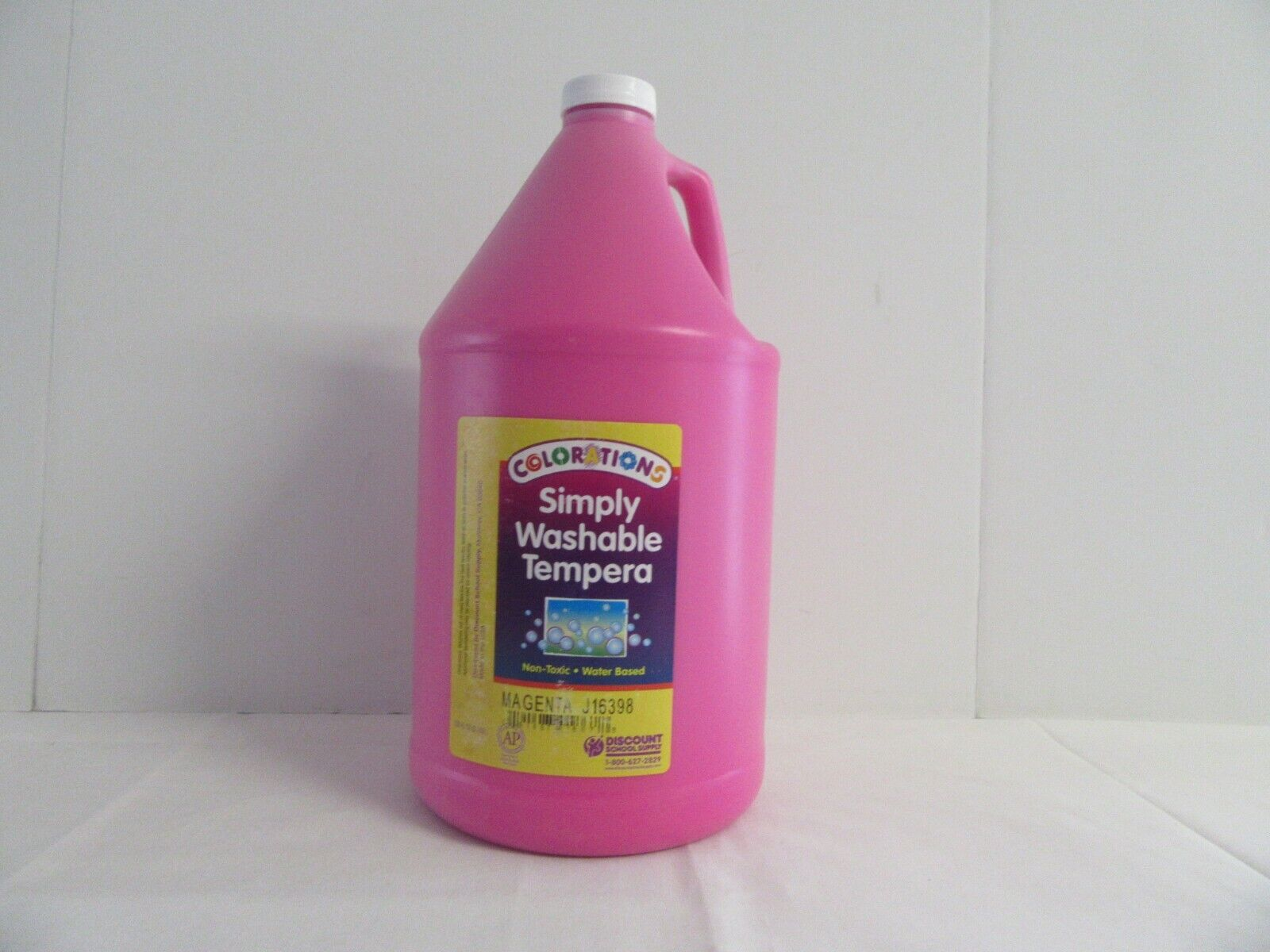 simply washable tempera paint 1 gallon pink