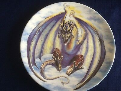 """Danbury Mint The Dragons Of Enchantica """"Dragon Of The Air """" (small scratches)"""