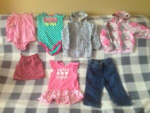 Girls 12-18 mth clothing and spring jackets