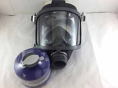 Scottsea Domestic Preparedness Fp Gas Mask Voice Amp New 52023 Nbc Filter
