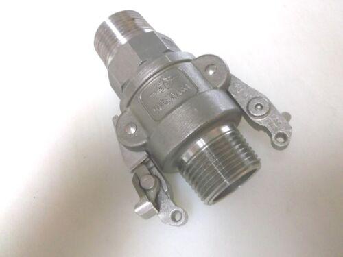 PT FD STA-LOK 10F 10B Stainless Coupling Set Positive Cam Lock New