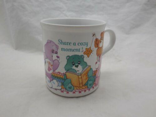 VIntage Care Bears Mug Share A Cozy Moment 1985 American Greetings