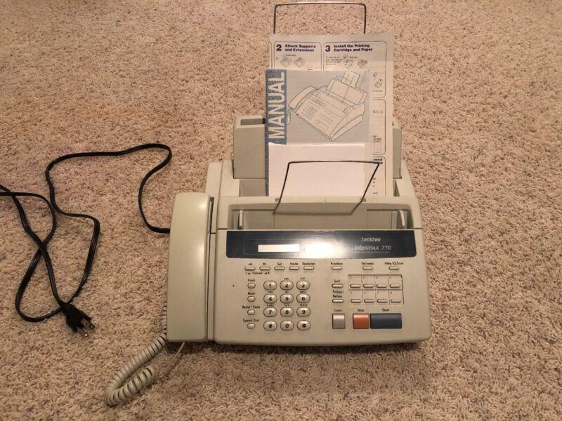 Brother intelli 770 copy /fax machine