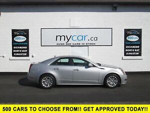 2011 Cadillac CTS 3.0L LEATHER, POWER SUNROOF, ALLOY WHEELS!!!