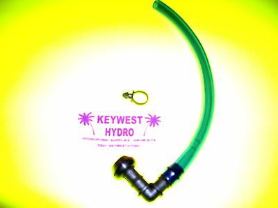 Drain System - HYDROPONIC SIGHT LEVEL TUBE DRAIN KIT FOR HYDRO SYSTEM RESERVOIR OR BUCKET
