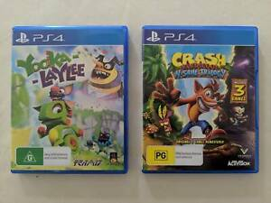 X1 PS4 Game Yooka Laylee CRASH IS SOLD Keysborough Greater Dandenong Preview