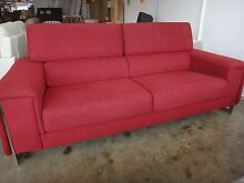 LACADA RED FABRIC 3S from Nick Scali - DISCOUNT FURNITURE STORE Richmond Yarra Area Preview