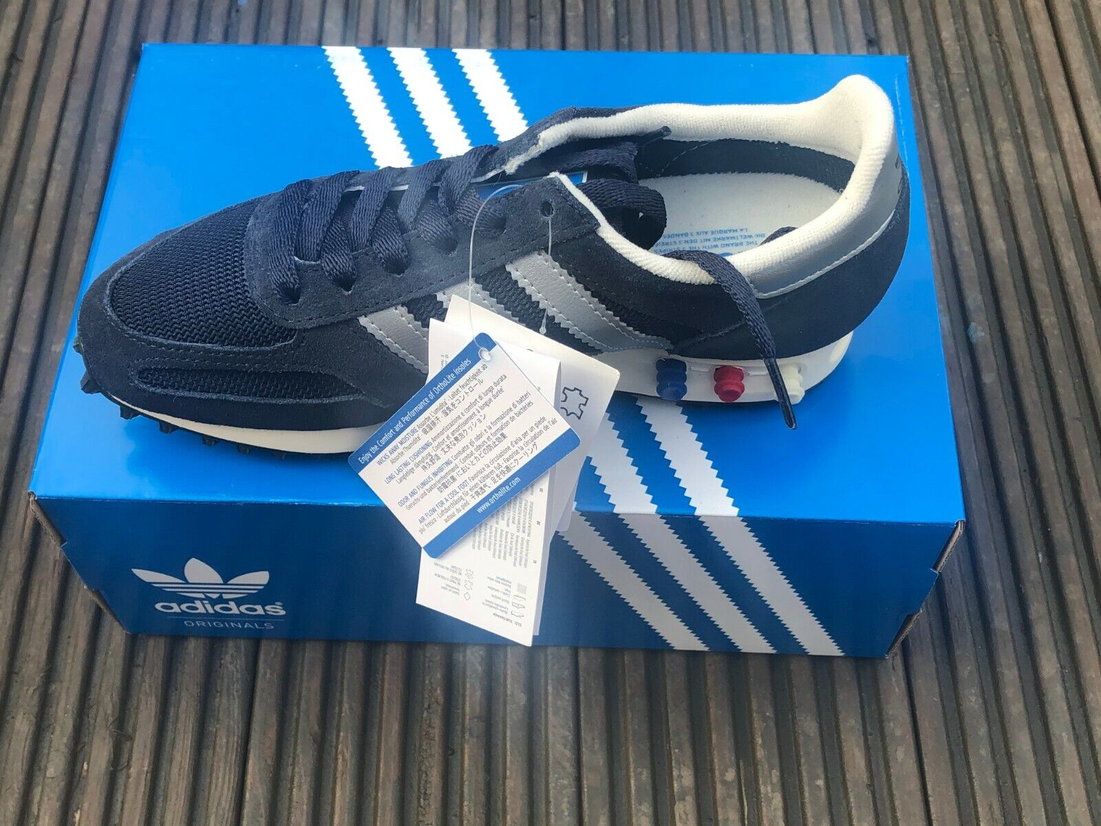 Latest Adidas Originals LA Trainer OG Girls/women's Trainers(UK ...