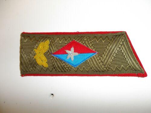 WC9-11 Cuba Cuban Fidel Castro Shoulder Board Service Uniform single