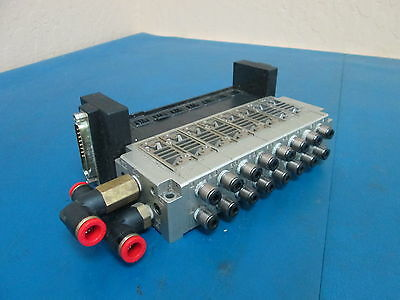 Smc Electronically Controlled Solenoid Manifold Valve Block