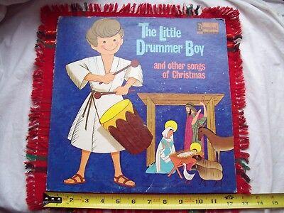 Christmas Music Little Drummer Boy - THE LITTLE DRUMMER BOY 1968 Vinyl Album LP~Christmas Music~Disneyland Record