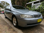 Ford BA Futura Station Wagon 6 months rego Rhodes Canada Bay Area Preview