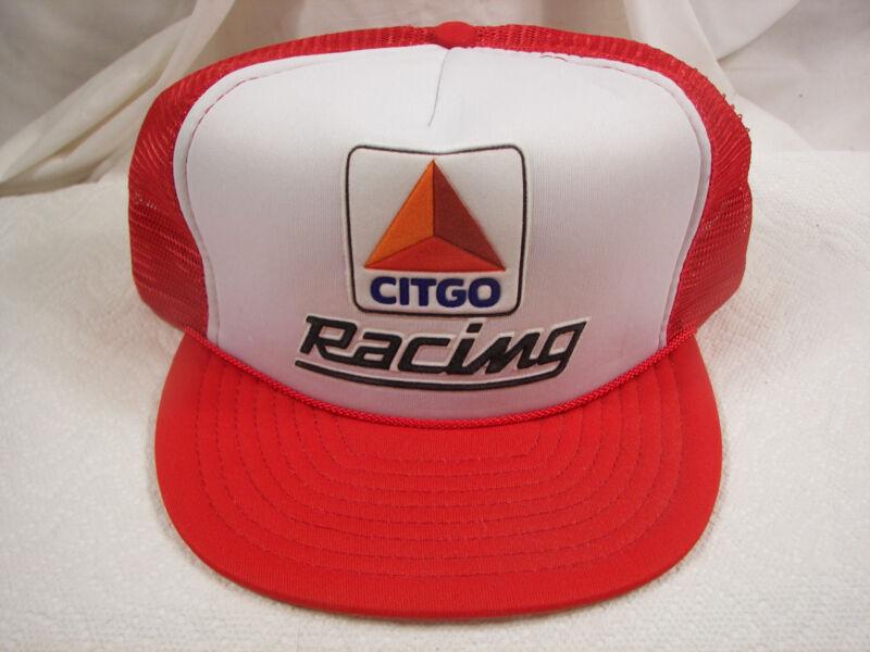 NOS Vintage Citgo Racing Hat 1990