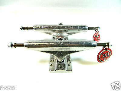 New Model Independent 129mm Stage 11 Raw Silver Standard Skateboard Trucks