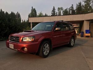 2004 Subaru Forester XT Manual