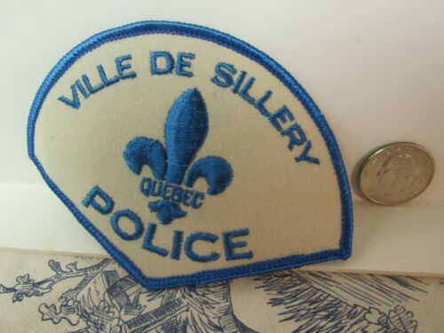 Vtg. Ville de Sillery Quebec Canadian Police Insignia Patch