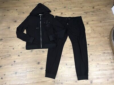 BRAND NEW MENS VERSACE COLLECTION FULL TRACKSUIT TOP ( L ) & BOTTOMS (38 ) BNWT.