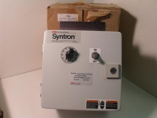 Nib Fmc / Syntron 229037-a Model Conddc218 Vibratory Feeder Conductor Controller