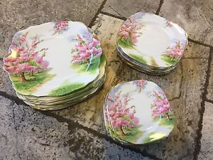 "Royal Albert Bone China ""Blossom Time"""