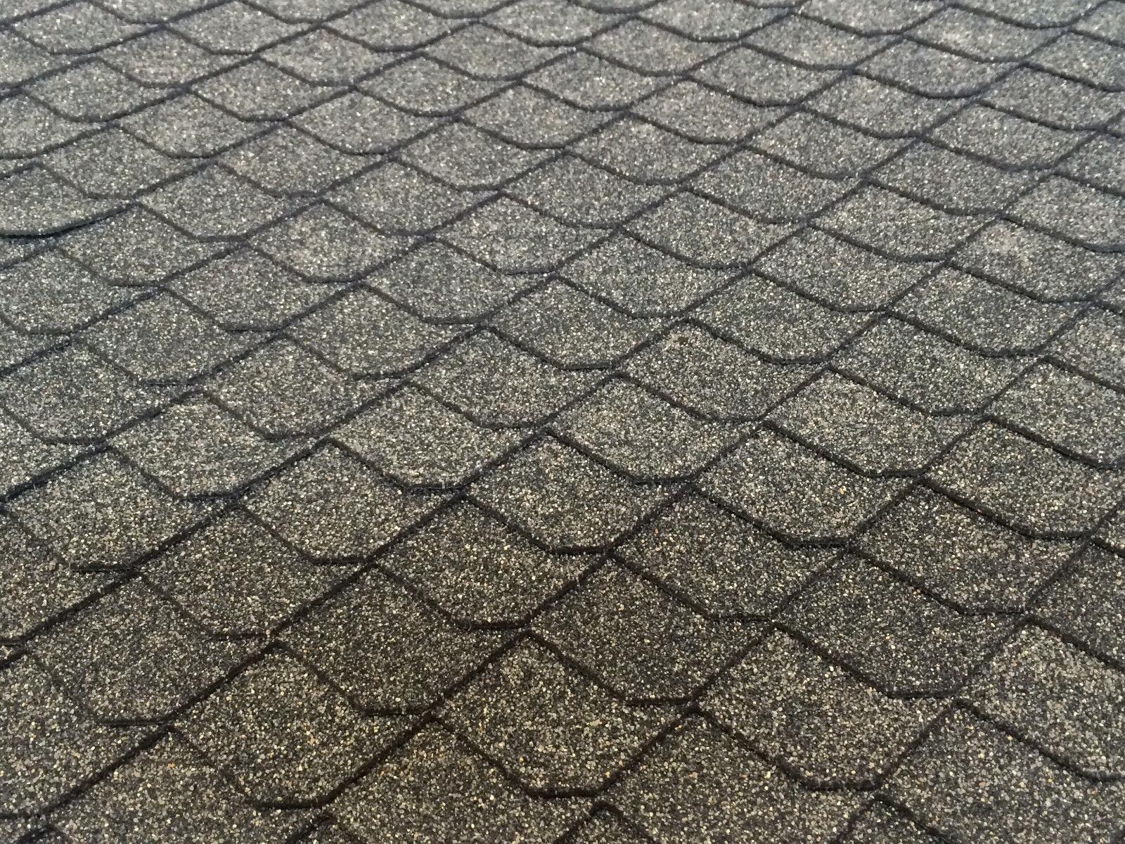 Dachschindeln Schiefer (55 mm) - Set Vogelhaus Wildvögel, Dachschindel