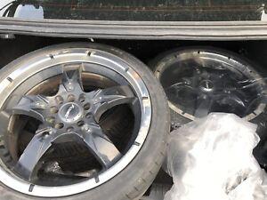 2007 Honda Civic Rims and tires (4)