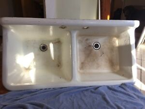 Vintage Cast Iron Sink