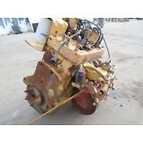 Continental F400A 4 Cylinder Gasoline Engine from Caterpillar V50 Forklift