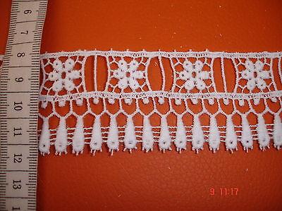Klöppelspitze  weiß KB174 - 4cm breit